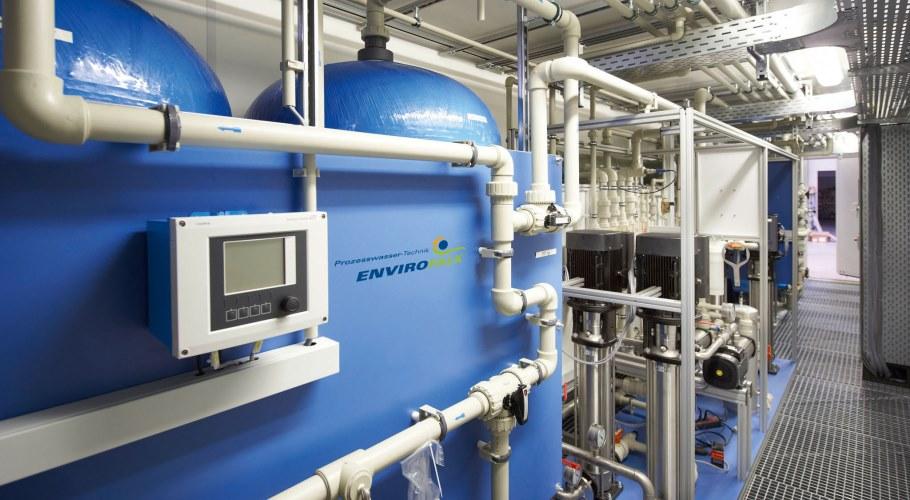 Containerised Water Treatment Envirofalk Prozesswasser Gmbh